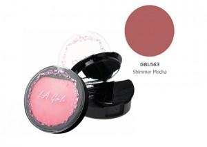 LA Girl Illuminating Blush Shimmer Mocha Review