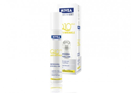 NIVEA Q10 Plus Anti-Wrinkle Refreshing Eye Roll-on Review