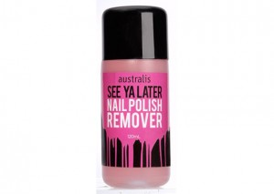 Australis See Ya Later Nail Polish Remover Review