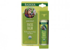Badger Balm Focus Balm Review