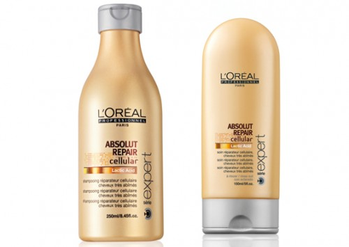 L'Oreal Professionnel Serie Expert Absolut Repair Cellular Repairing Shampoo and Conditioner Review