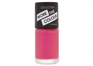 Collection Cosmetics Work the Colour Nail Polish Review