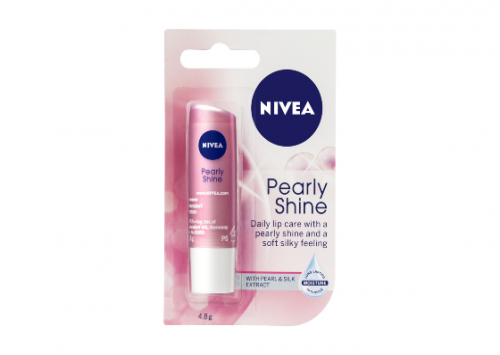 NIVEA Lip Care Pearly Shine Review