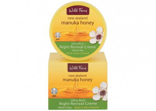 Wild Ferns Manuka Honey Ultra Rich Night Revival Review