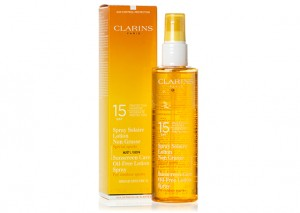 Clarins Sunscreen Care Oil Free Lotion Spray Review