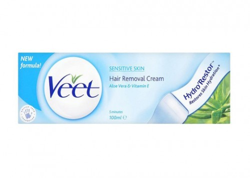 Veet Hair Removal Cream For Sensitive Skin Review Beauty Review