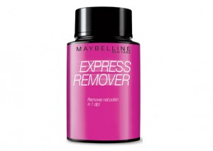 Maybelline Express Remover Review