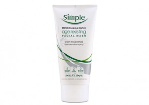 Simple Regeneration Facial Wash Age Resisting Review