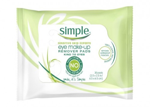 Simple Remover Pads Eye Make Up Remover Pads Review