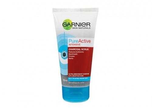 Garnier Pure Active Intense Charcoal Scrub Review