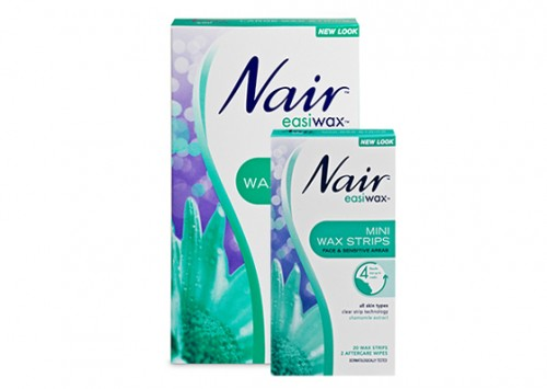 Nair Hair Remover Facial Wax Strips With Chamomile Review Beauty Review