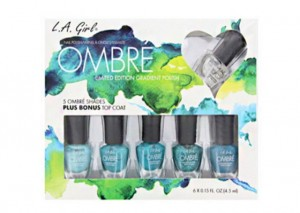 LA Girl Ombre Nail Set Review