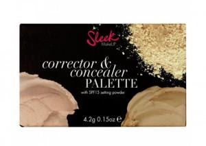 Sleek Corrector & Concealer Palette Review