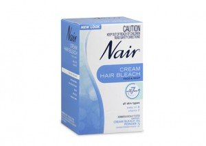 Nair Cream Hair Bleach Review