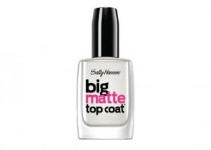Sally Hansen Big Matte Top Coat Review