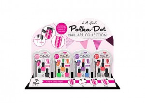 LA Girl Polka Dots Nail Art Kit Review