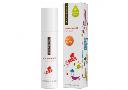 Snowberry New Radiance Face Serum with Cu-PEP Review