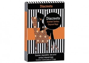 Discreets Scented Sanitary Disposal Bags