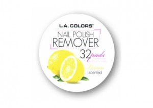 LA Colors Nail Polish Remover Pads Review