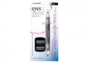 LA Colors Dual Eyeliner/Eyeshadow Pencil Review