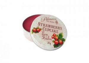 Patisserie de Bain Strawberry Cupcake Lip Balm Review