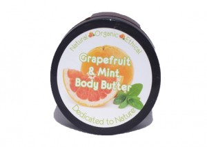 Dedicated to Nature Grapefruit & Mint Body Butter Review