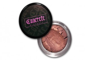 Concrete Minerals Eyeshadow Review