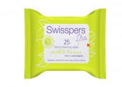Swisspers Spa Facial Cleansing Wipes, white tea 25 pack Review