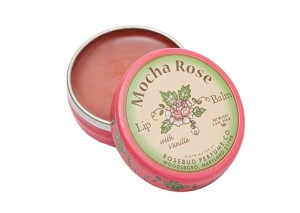 Rosebud Perfume Company Mocha Rose Lip Balm Review
