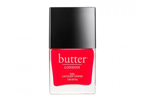 BUTTER London Nail Lacquer LadyBird Review - Beauty Review