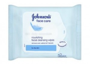 Johnson's Nourishing Facial Cleansing Wipes
