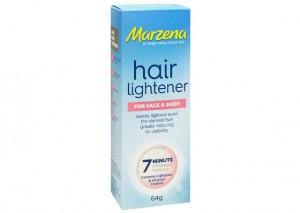 Marzena's Hair Lightener for Face & Body Review