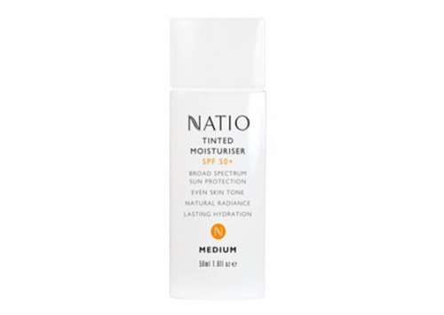 Natio Tinted Moisturiser SPF 50+ Review