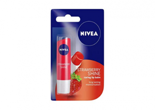 NIVEA Lip Care Strawberry Shine Review