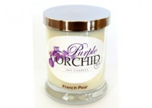 Purple Orchid Soy Candle Review