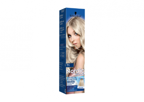 Schwarzkopf Nordic Blonde T1 Anti-Yellow Refresher Mousse Review