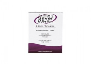 Brilliant Silver White Hair Toner Review