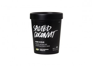 Lush Salted Coconut hand Scrub Review