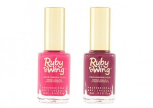 Ruby Wing Colour Change Nail Polish
