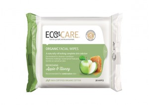 Eco Care Facial Cleansing Wipes Organic Apple with Honey Review