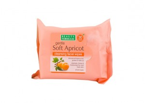 Beauty Formulas Gentle Soft Apricot Cleansing Facial Wipes Review