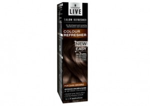 Schwarzkopf Live Salon Colour Refresher Mousse Review - Dark Brown