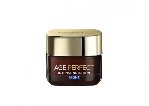 L'Oréal Paris Age Perfect Night Cream Intense Nutrition Repair Review