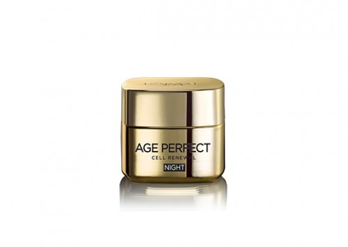 L'Oréal Age Perfect Night Cream Restoring Cell Renewal Review