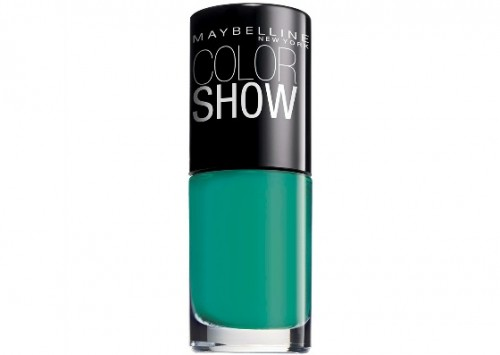 maybelline color show in show me the green review beauty review
