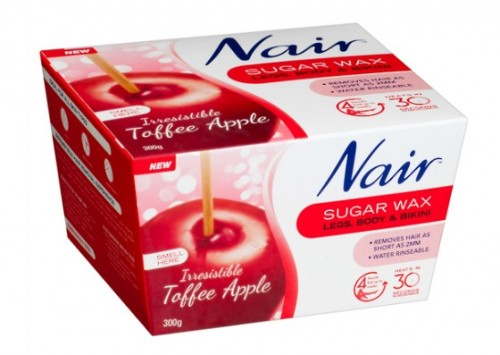 Nair Toffee Apple Sugar Wax Review