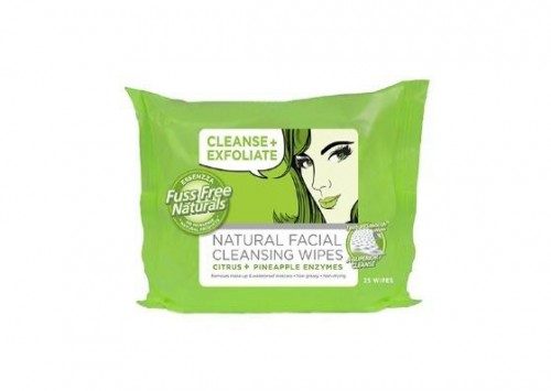 Essenzza Fuss Free Naturals Cleanse + Exfoliate Wipes Review