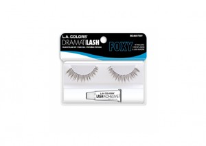 LA Colors Deluxe False Eyelashes Kit Volume Review
