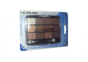 LA Colors 12 Color Eyeshadow Palette Traditional Review