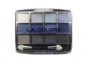 LA Colors 12 Color Eyeshadow Palette Supernatural Review